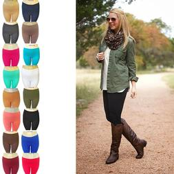 Fleece Lined Leggings Winter Warm Pants Brushed One Size The