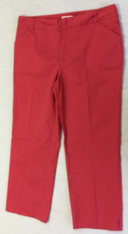 CHARTER CLUB GOLF COLLECTION  WOMENS CAPRIS PANTS SIZE 10