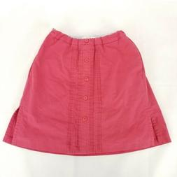 Tommy Hilfiger Golf Pants Skirt Red Sz 6 pink/white stripped