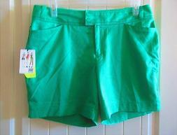 """TAIL White Label, Green, Modern Fit Golf Shorts, 6-3/8"""" Inse"""