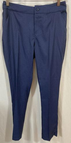 NWT Greg Norman Womens Golf Pants Size 4 Stretch Blue Perfor