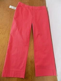 NEW Women's Charter Club Cropped Golf Collection Pants Sz 6