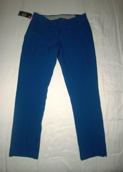 NEW!! UNDER ARMOUR WOMENS GOLF PANTS SIZE 12 BLUE