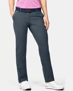 NWT Under Armour Women's Link's Gray Golf Pants - Size 6 - 1
