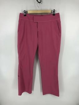 Adidas Pink ClimaCool Stretch Pants Golf Active Size 8