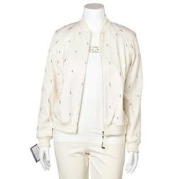 St. John 4Pc Golf Themed Outfit Jacket Top & Pant Suit w/ Ma