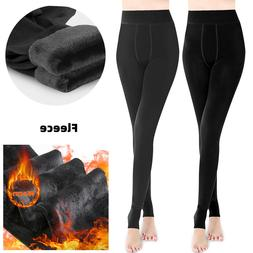 Super Thick Cashmere Leggings Tight High Waist Pants Warm Pa
