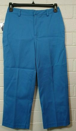 """Woman CHARTER CLUB GOLF PANTS Size 8""""Tropical Punch""""Cropped"""