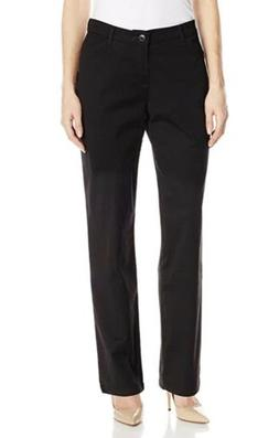 Lee, Women's Relaxed Fit All Day Straight Leg Pant, Black,